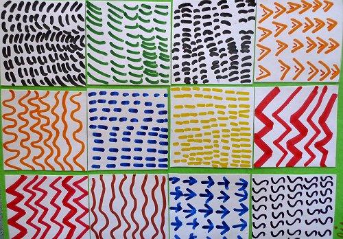 Travaux sur les oeuvres de Keith Haring ...