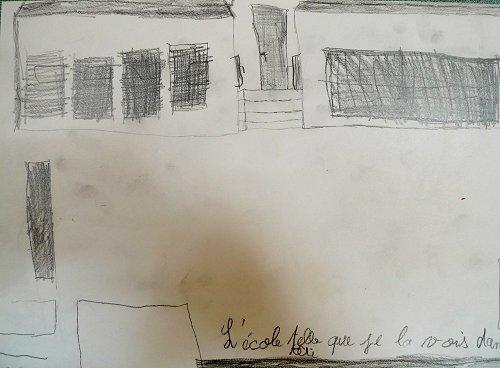 Travaux sur l'école de Boutiers...